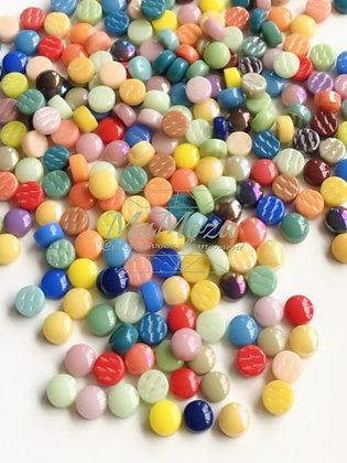 Optic Dots Mix Berry Satin