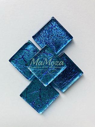 Folie 2x2 Donker Blauw  - 14 st