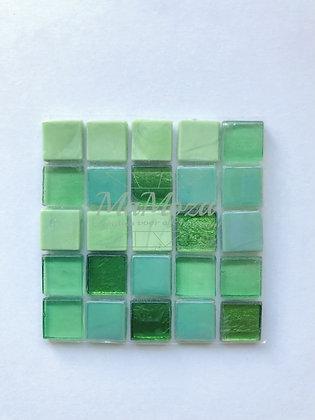 Kameleon Groen mix 15mm 25 stuks