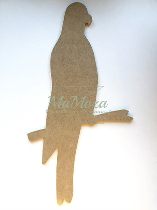 MDF Papegaai 60cm
