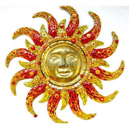 DIY Aztec Sun gold 50 cm