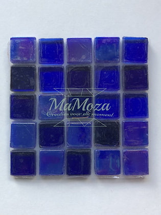 Intens Blauw mix 15mm 25 stuks