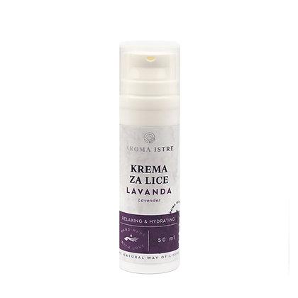 KREMA ZA LICE -Lavanda / FACE CREAM Lavender 50ml