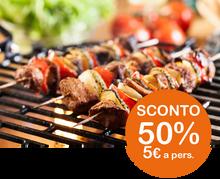Vi piacerebbe organizzare un Barbecue, ma non avete terrazza o giardino? Benvenuti al Trifoglio!