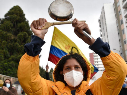 Pandemic Taxation: Colombians Fight Back