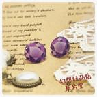 人工宝石 紫 かわいい ロリィタ プラ版 レジン アクセサリーファンタジー スチームパンク クラシカル アンティーク