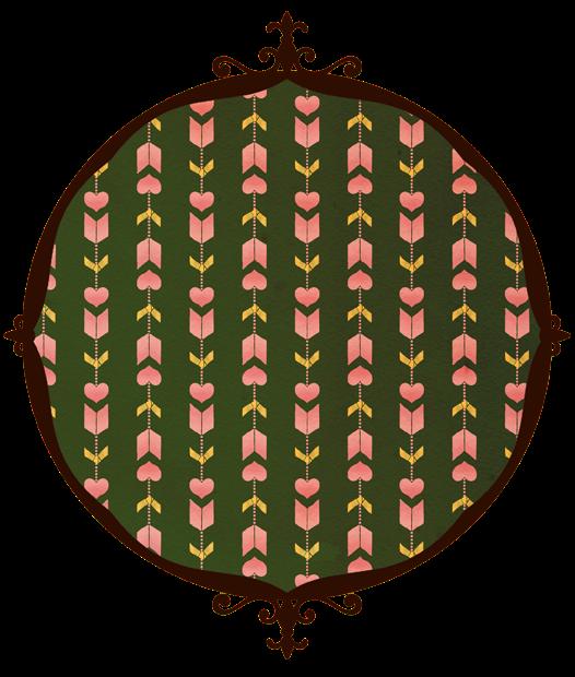 恋文矢絣 矢絣のみ 緑