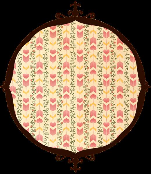 恋文矢絣 赤薔薇
