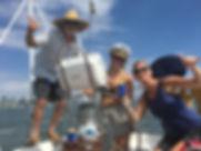 Sailing w Edda and friends- Captian Mike