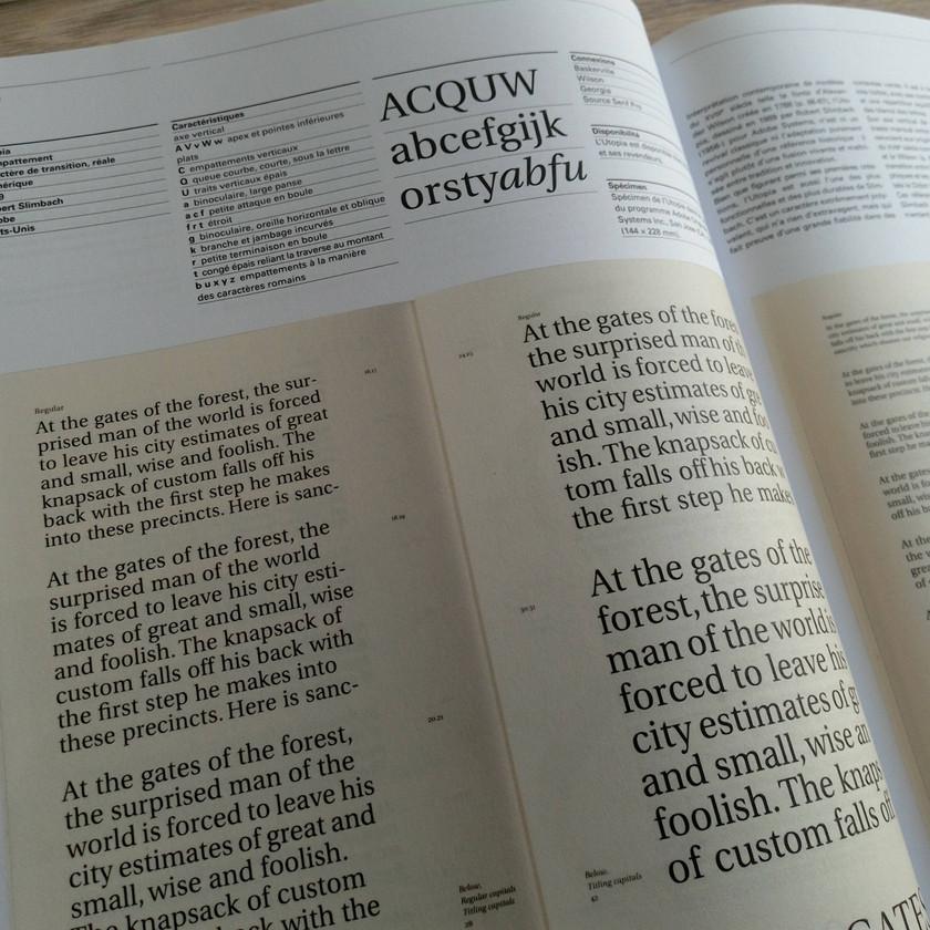 typographie infographie création écriture