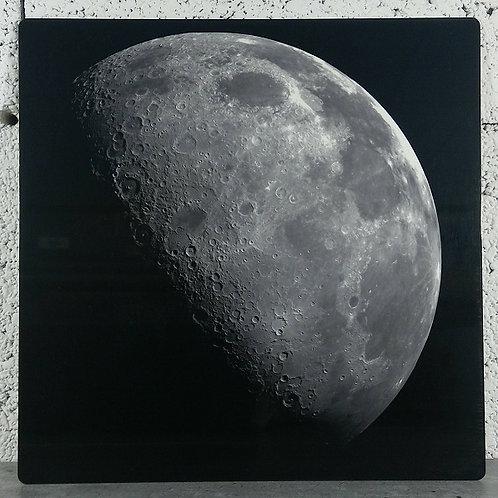 Lune - Tableau en aluminium