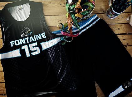maillot short sublimation impression basket création design