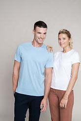 t-shirt coupe ajustée kariban colrond