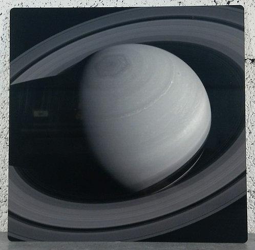 Saturne - Tableau en aluminium