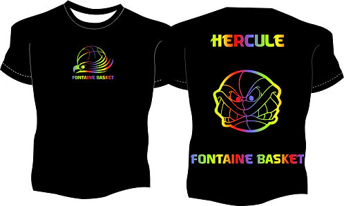 Tee-shirt Club Arc-en-Ciel #E190