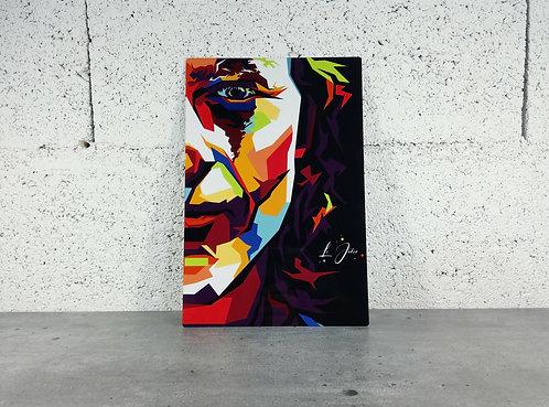 Plaque aluminium Le Joker