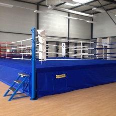 Ring de boxe combat
