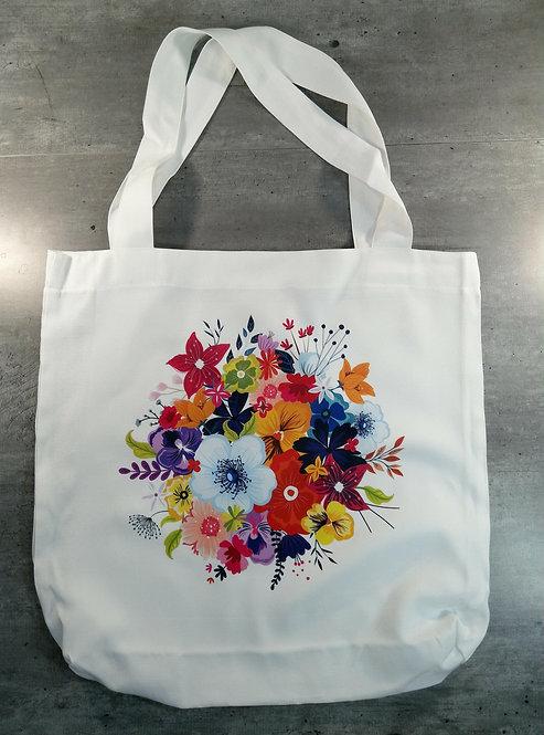 Tote Bag fleuri