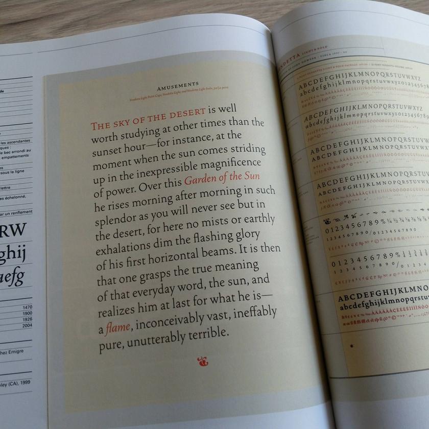 typographie infographie police écriture