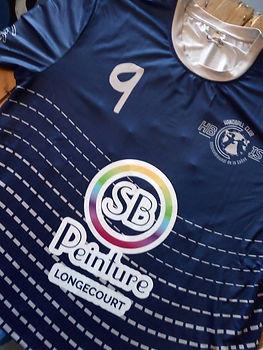 t shirt de sport customisé handball