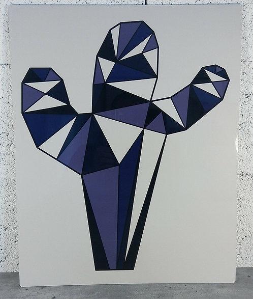 Cactus - Tableau en aluminium