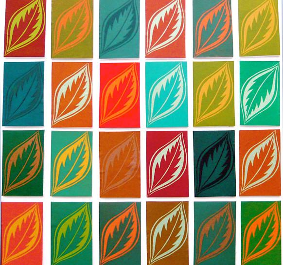 Elaine Marshall :-Leaf study