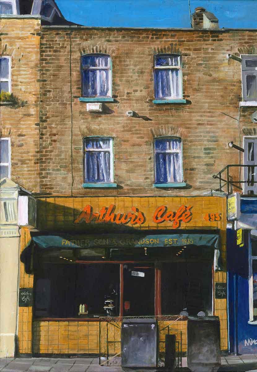 Arthur's Cafe, Dalston