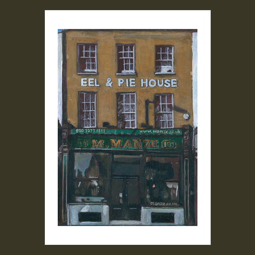 M.Manze Pie & Eel House, Peckham