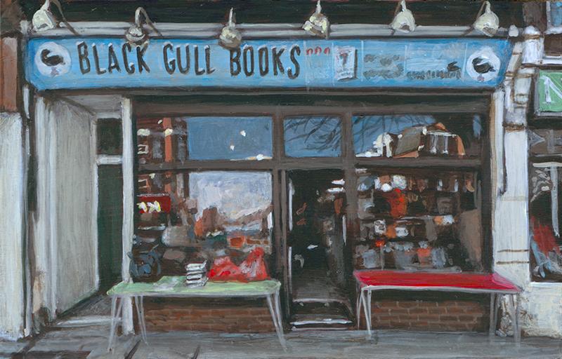 Black Gull Books, East Finchley