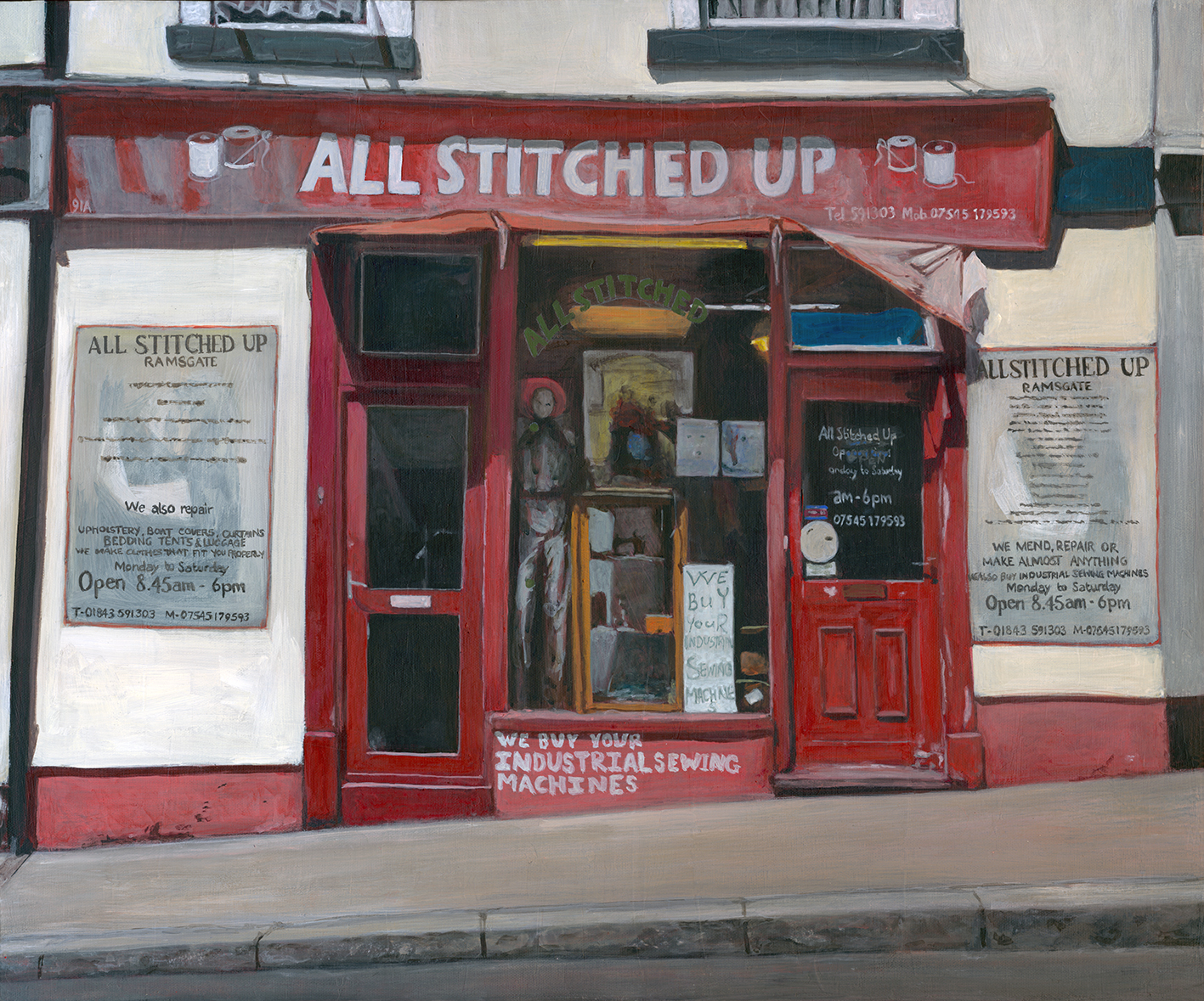 All Stitched Up, Ramsgate copy