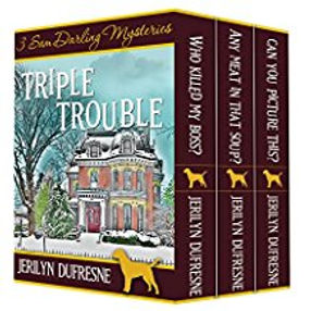 Triple Trouble Sam Darling Mysery Series
