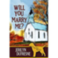 Will you marry me? Jerilyn Dufresne, cozy mystery author