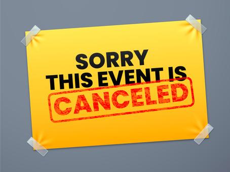 BERMA Cup 2020 und 40Jahre-Event abgesagt