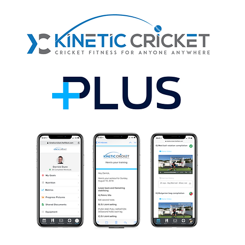 Kinetic Cricket - Plus package (3 month program)