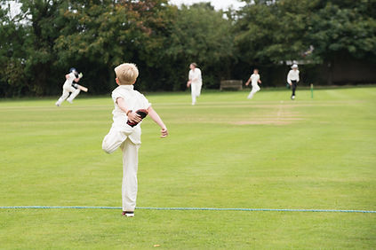 England school youth player warming up f