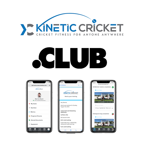 Kinetic Cricket - Club package (3 month program)