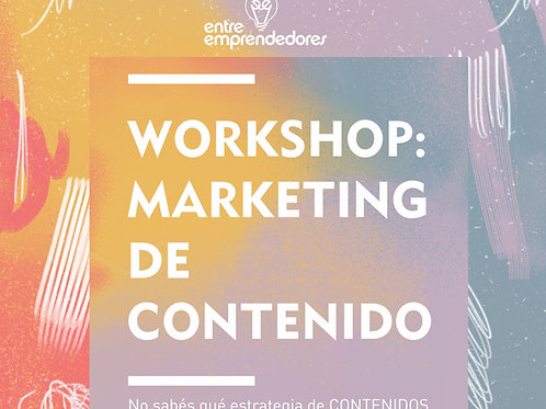 CLASE ONLINE MARKETING DE CONTENIDOS PARA REDES