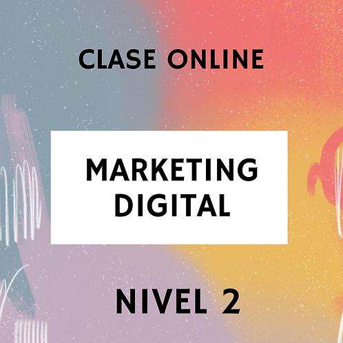 CLASE ONLINE MKT DIGITAL NIVEL 2
