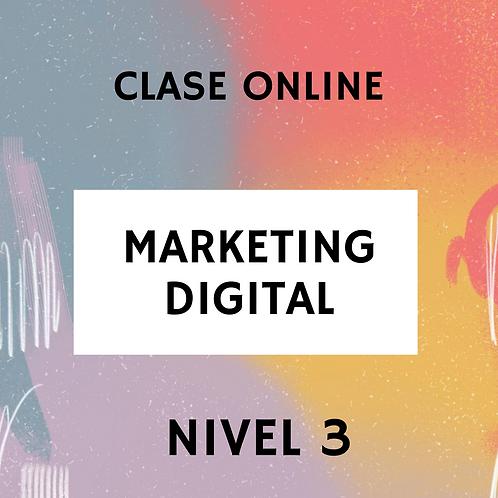 CLASE ONLINE MKT DIGITAL NIVEL 3