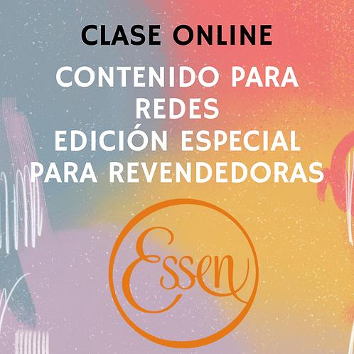 CLASE ONLINE MARKETING DE CONTENIDOS PARA REDES