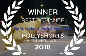 FRENCH FRIES WINS BEST ROMANCE AT HOLLYSHORTS
