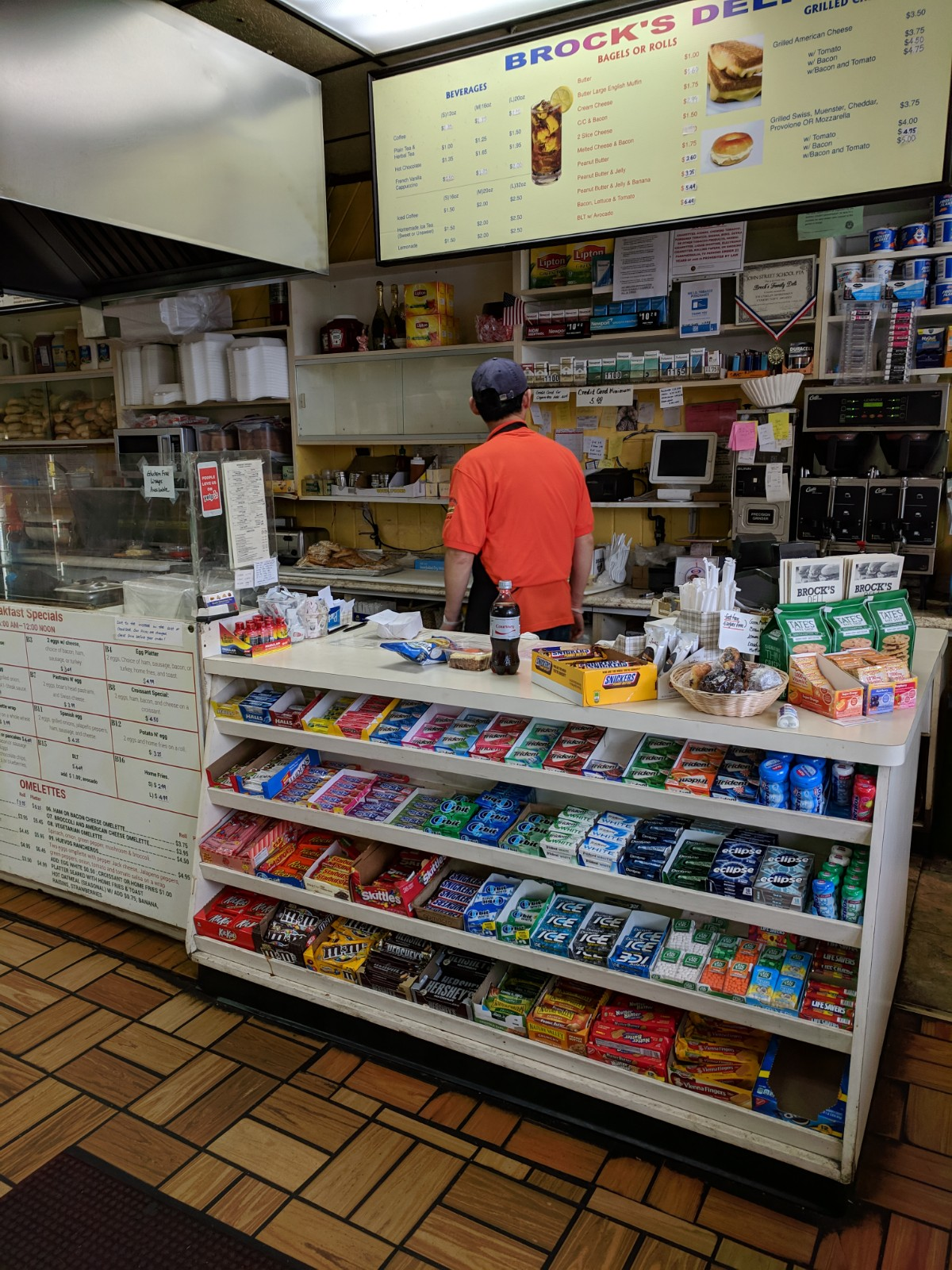 Candy and Gum at the Front Counter
