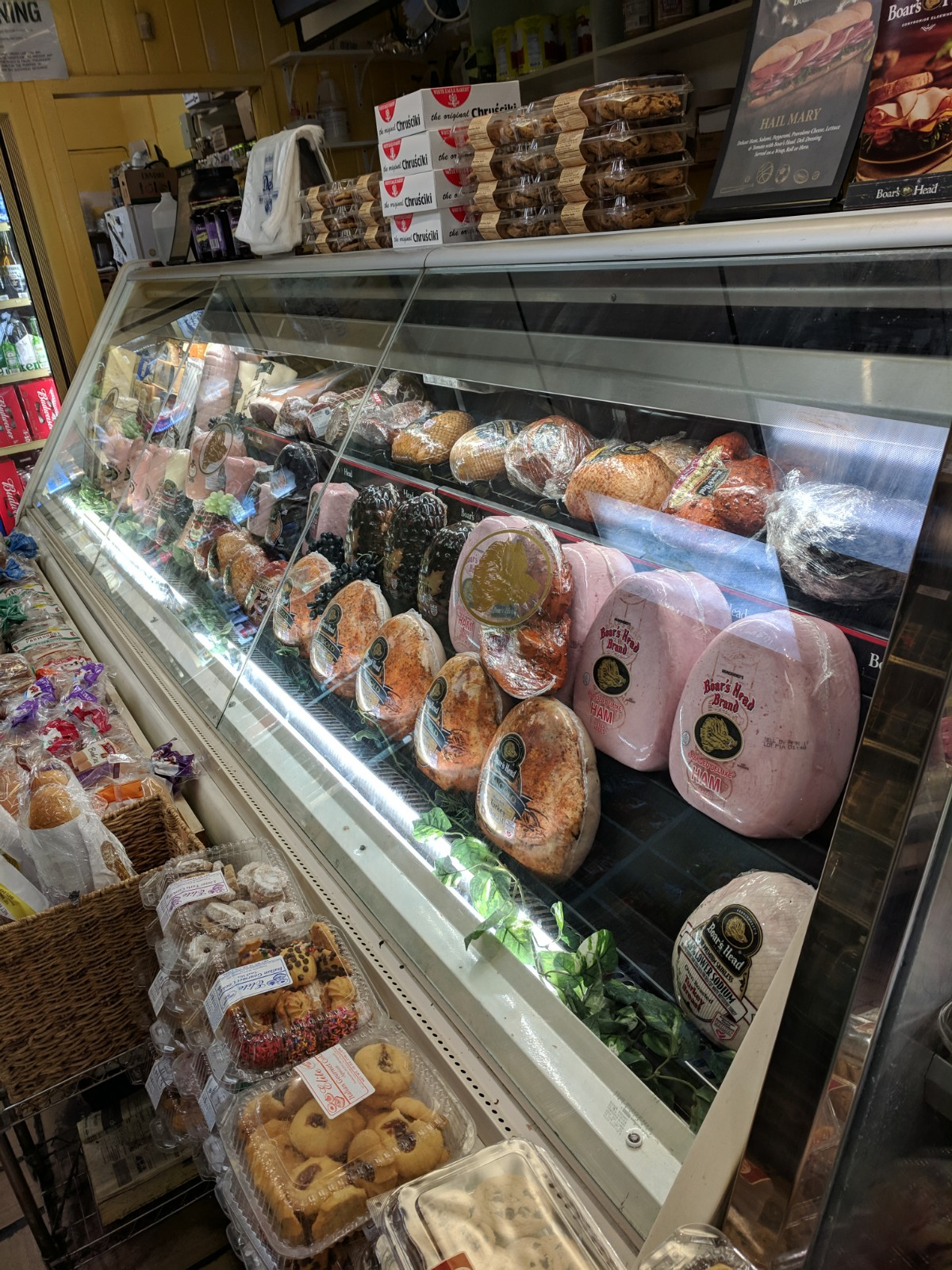 Fresh Boar's Head Meats and Cheeses