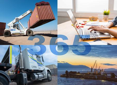 Logística FG 365 días al año