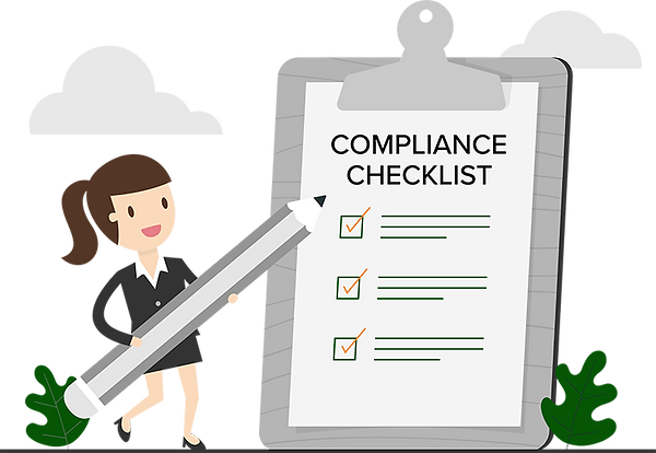 Rhonda Compliance Checklist Graphic Webs