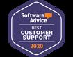 Software Advice Award Customer Service W