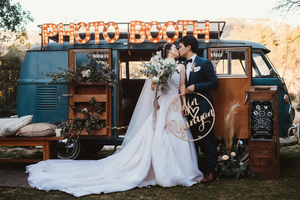Why photo booths are perfect for weddings