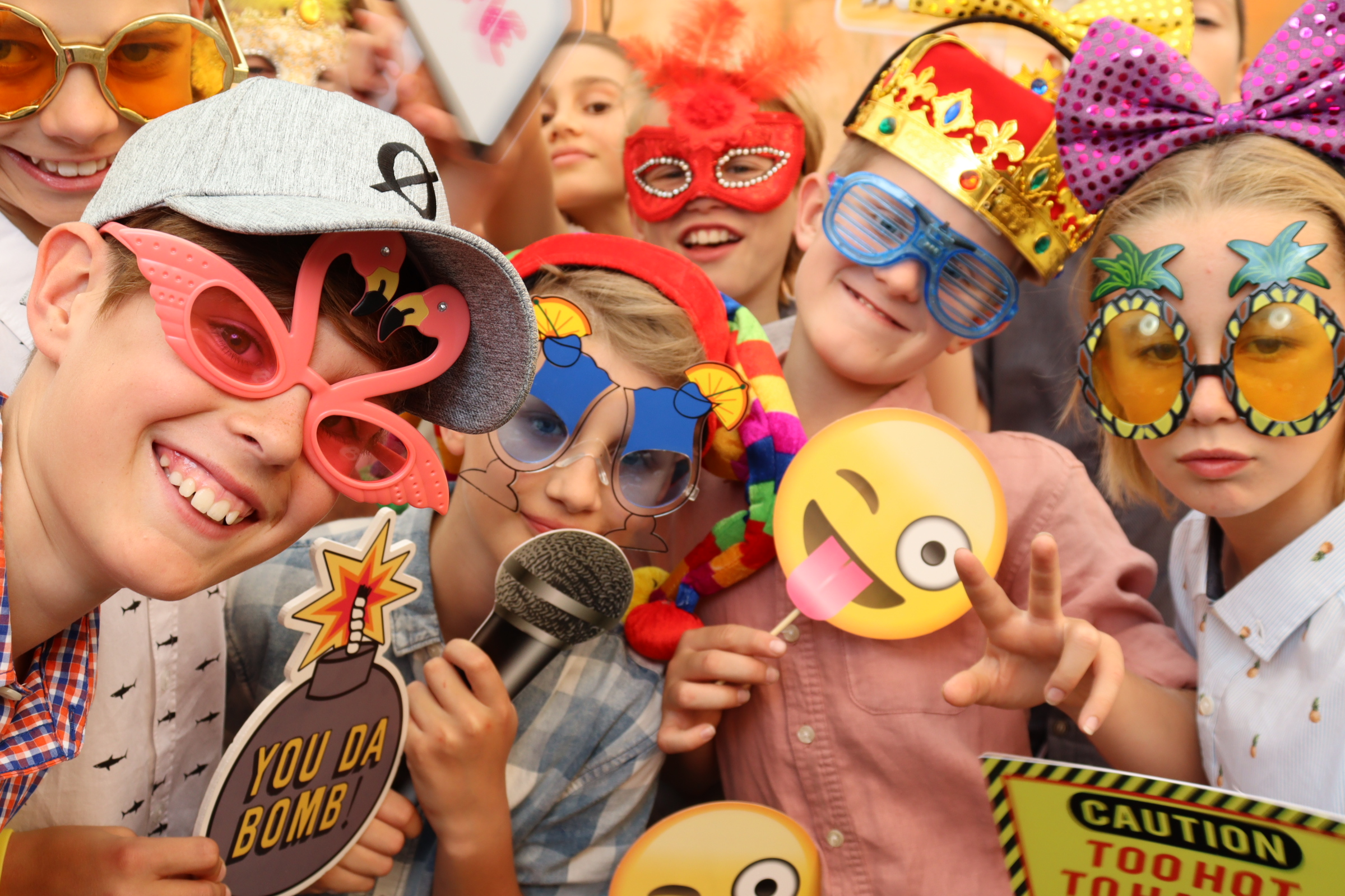 Kids' Party Photo Booth