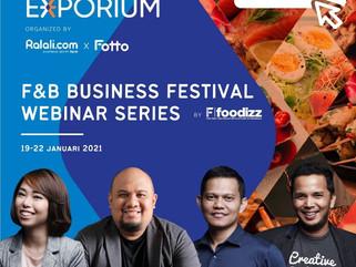 Belajar Bisnis Kuliner di Exhibition Virtual Terbesar di Indonesia!