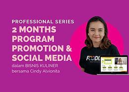 2 Months Program Promotion & Social Media
